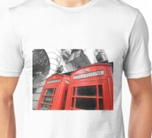 Red London Unisex T-Shirt
