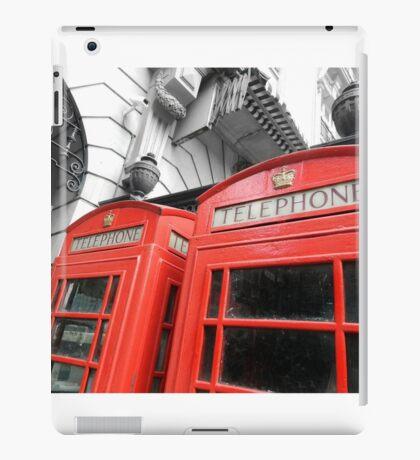 Red London iPad Case/Skin