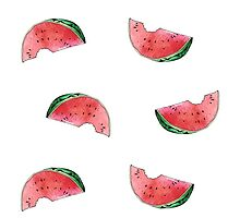 WATERMELONS ARE RAINING by Jade Lacoste