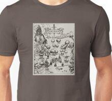 Prydain Map Unisex T-Shirt