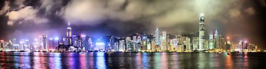 Hong Kong Skyline  by Paul Thompson Photography