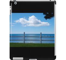 aeroplane cloud, penguin, tasmania iPad Case/Skin