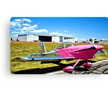 Pink Panther Aircraft Canvas Print