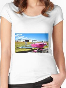 Pink Panther Aircraft Women's Fitted Scoop T-Shirt