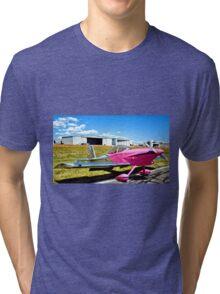Pink Panther Aircraft Tri-blend T-Shirt