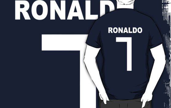 Ronaldo white font by SW7 Design