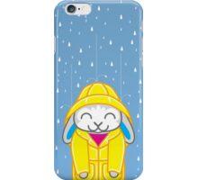 Binky-ing in the Rain iPhone Case/Skin