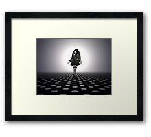 Gothic Catwalk Framed Print