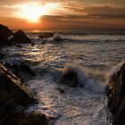 High Tide Sunset by Lorraine Parramore