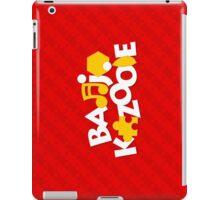 Bear & Bird - Red iPad Case/Skin