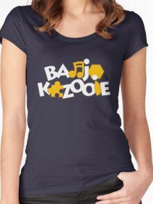 Bear & Bird - Blue Women's Fitted Scoop T-Shirt