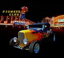 Duece Coupe Las Vegas by Thomas Burtney