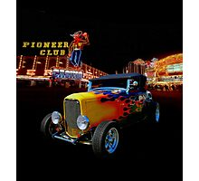 Duece Coupe Las Vegas Photographic Print