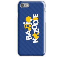 Bear & Bird - Blue iPhone Case/Skin