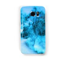 Blue Samsung Galaxy Case/Skin