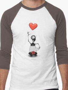Heart Cage Robot  Men's Baseball ¾ T-Shirt