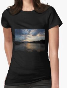 Reflected Glow Womens Fitted T-Shirt