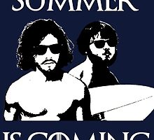 Summer is coming - white by CrowTeam