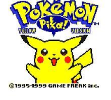 Pokemon Yellow by buythesethings