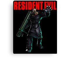 Resident Evil: Nemesis  Canvas Print