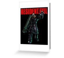 Resident Evil: Nemesis  Greeting Card