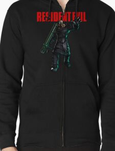 Resident Evil: Nemesis  Zipped Hoodie