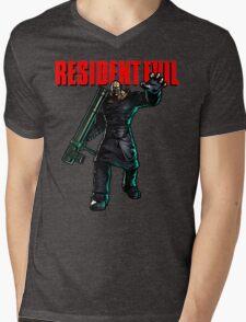 Resident Evil: Nemesis  Mens V-Neck T-Shirt