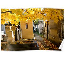 Pere Lachaise Cemetery III Poster