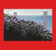 sun. sea. lavender One Piece - Short Sleeve