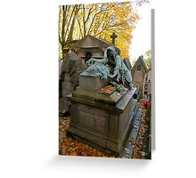 Pere Lachaise Cemetery III Greeting Card