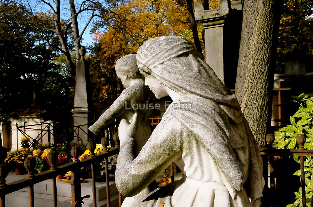 Pere Lachaise Cemetery IV by Louise Fahy