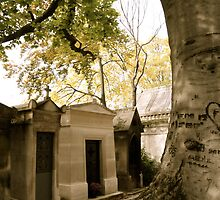 Pere Lachaise Cemetery V by Louise Fahy