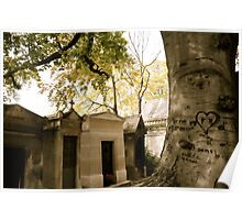 Pere Lachaise Cemetery V Poster