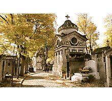 Pere Lachaise Cemetery VI Photographic Print