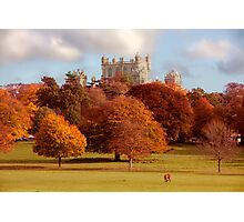 Wollaton Hall and Deer Park Nottingham Photographic Print