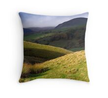 The Howgill Fells - Cumbria Throw Pillow