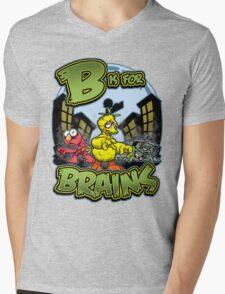 B is for Brains! Mens V-Neck T-Shirt