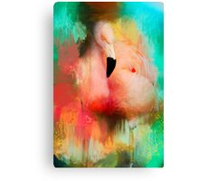 Colorful Expressions Flamingo Canvas Print