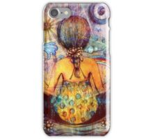 Rainbow Meditation iPhone Case/Skin
