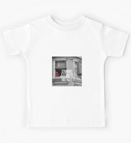 Straight Outta Cole Valley #2 Kids Tee
