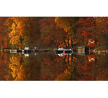 Autumn Glory at Glenfinnan. Photographic Print