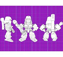 All Hail Megs schematic Photographic Print