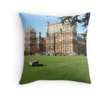 Wollaton Hall Throw Pillow