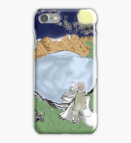 Scrying in Uncertainty iPhone Case/Skin