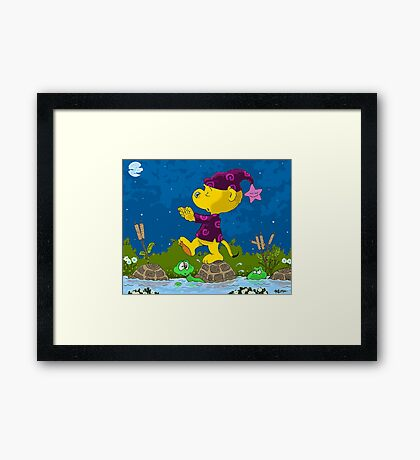 Ferald Sleepwalking Framed Print