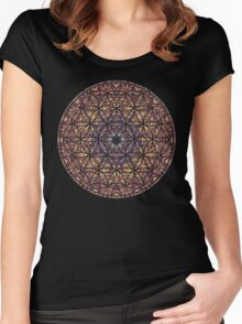 Mandala Water Women's Fitted Scoop T-Shirt