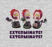 Splatoon! EXTERMINATE, EXTERMINATE! Octobot by kuuushi