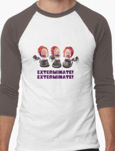 Splatoon! EXTERMINATE, EXTERMINATE! Octobot Men's Baseball ¾ T-Shirt