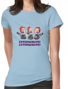 Splatoon! EXTERMINATE, EXTERMINATE! Octobot Womens Fitted T-Shirt