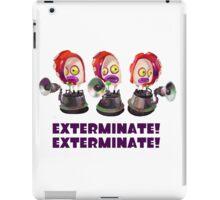 Splatoon! EXTERMINATE, EXTERMINATE! Octobot iPad Case/Skin